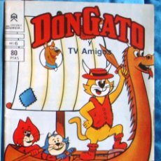 Libros de segunda mano: DON GATO T. V.1983 EDICIONES SURCO Nº 6 INFANTIL NUEVO. Lote 183660080