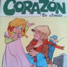 Libros de segunda mano: CORAZÓN DE AMICIS SERIE LECTURAS DE EUROPA-EDIEXPORT AÑO 1983 CUENTOS- NUEVO INFANTIL. Lote 183712152