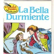 Libros de segunda mano: LA BELLA DURMIENTE CUENTOS PUMBY PARA ILUMINAR-NUEVO-VALENCIANA 1984-DIBUJOS ERGO. Lote 183713268
