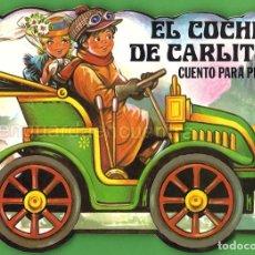 Libros de segunda mano: CUENTO TROQUELADO PARA PINTAR-EL COCHE DE CARLITOS GAVIOTA 1986 NUEVO. Lote 183714651
