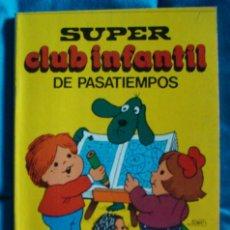 Libros de segunda mano: SUPER CLUB INFANTIL DE PASATIEMPOS BRUGUERA 1983 CON 4 TOMOS. Lote 183722868