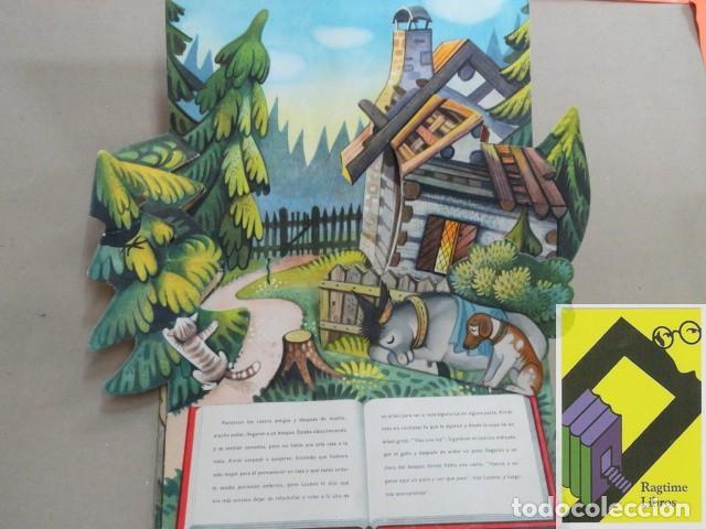 Libros de segunda mano: Los fugitivos y los ladrones (Cuento EN RELIEVE) - Foto 2 - 182857595