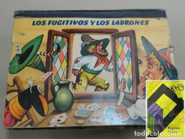 LOS FUGITIVOS Y LOS LADRONES (CUENTO EN RELIEVE) (Libros de Segunda Mano - Literatura Infantil y Juvenil - Cuentos)