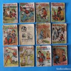 Libros de segunda mano: 12 CUENTOS MINIATURA DE CALLEJA - ORIGINALES. Lote 183855901