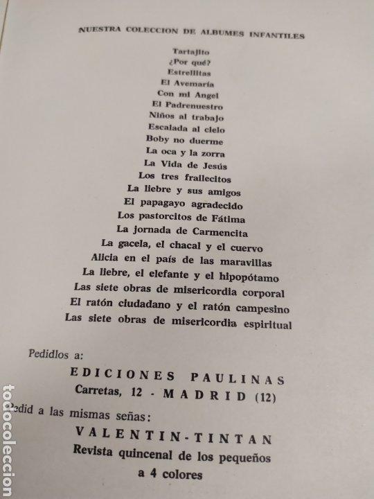 Libros de segunda mano: Cuento infantil ediciones Paulinas año 1958 - Foto 10 - 183865831