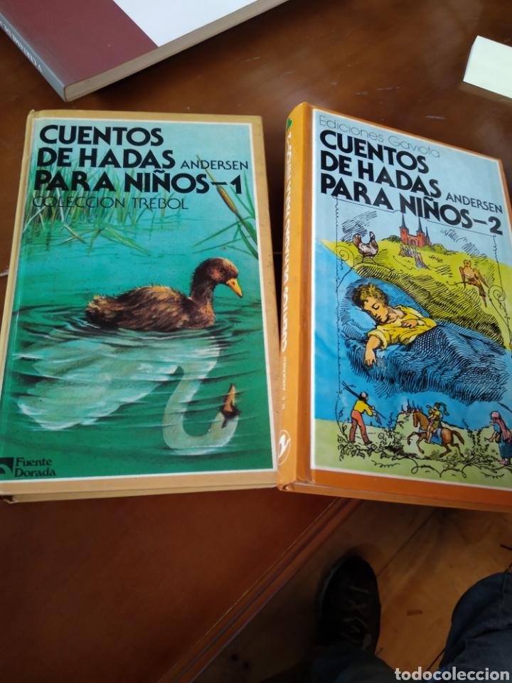 Libros de segunda mano: CUENTOS DE HADAS PARA NIÑOS. 2 TOMOS. ANDERSEN - Foto 2 - 184000251