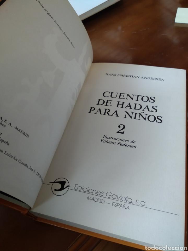 Libros de segunda mano: CUENTOS DE HADAS PARA NIÑOS. 2 TOMOS. ANDERSEN - Foto 3 - 184000251