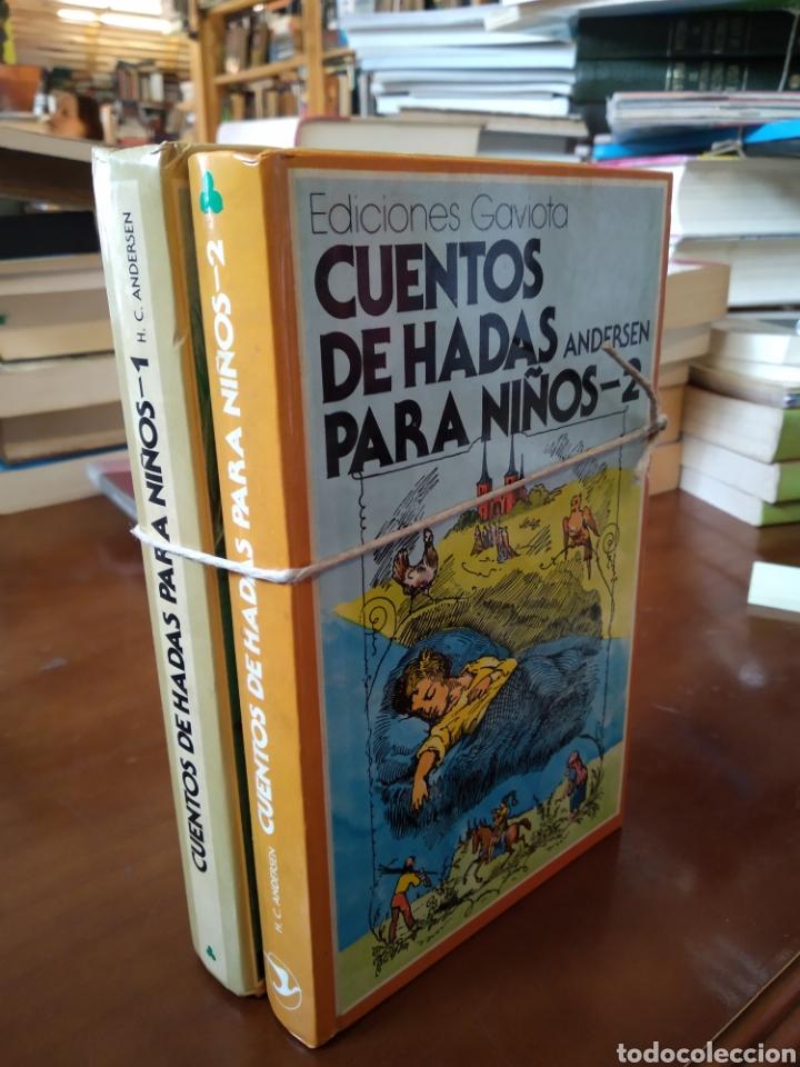 CUENTOS DE HADAS PARA NIÑOS. 2 TOMOS. ANDERSEN (Libros de Segunda Mano - Literatura Infantil y Juvenil - Cuentos)