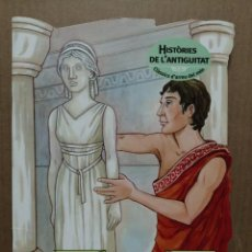 Libros de segunda mano: CUENTO TROQUELADO EN CATALA HISTORIES DE L ANTIGUITAT L ESTATUA DE PIGMALIO COMBEL 2008. Lote 184063683