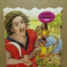 Libros de segunda mano: CUENTO TROQUELADO EN CATALA CONTES DE AMÉRICA EL GEGANT PELUT COMBEL 2008. Lote 184063757