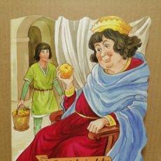 Libros de segunda mano: CUENTO TROQUELADO EN CATALA EL PERET I EL REI GALAFRE COMBEL 2007. Lote 184063877