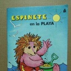 Libros de segunda mano: CUENTO POR DENTRO TROQUELADO ESPINETE EN LA PLAYA BARRIO SÉSAMO . Lote 184073482