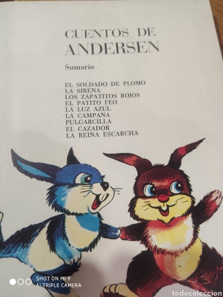 Libros de segunda mano: Cuentos de Andersen - Foto 3 - 184293101