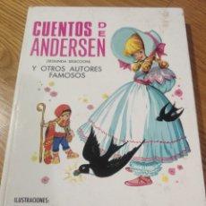 Libros de segunda mano: CUENTOS DE ANDERSEN, SEGUNDA SELECCIÓN, Y OTROS AUTORES FAMOSOS.. Lote 184293955