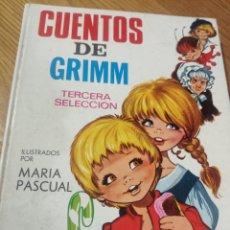 Libros de segunda mano: 12 CUENTOS DE GRIMM, TERCERA SELECCIÓN. Lote 184294380