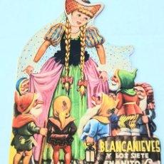 Libros de segunda mano: LA BLANCA NIEVES *** TEXTO SALVADOR BANAVIA *** DIBUJOS JUMENEZ ARNALOT *** EDICIONES IRIS. Lote 184452570