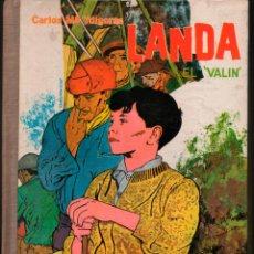 Libros de segunda mano: LANDA EL VALIN. CARLOS Mª YDIGORAS. DONCEL Nº 16 LA BALLENA ALEGRE. Lote 184725785