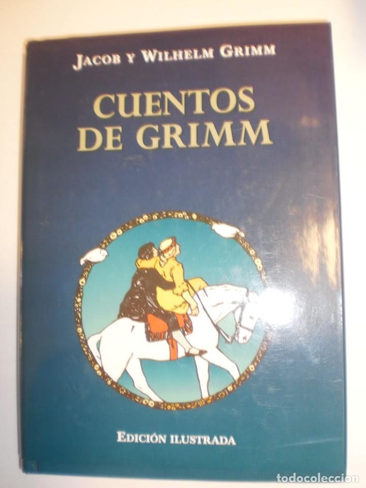 CUENTOS DE GRIMM. JACOB Y WELHELM. EDICIONES B 2000 TAPA DURA. ED ILUSTRADA 269 PÁG (SEMINUEVO) (Libros de Segunda Mano - Literatura Infantil y Juvenil - Cuentos)