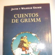 Libros de segunda mano: CUENTOS DE GRIMM. JACOB Y WELHELM. EDICIONES B 2000 TAPA DURA. ED ILUSTRADA 269 PÁG (SEMINUEVO). Lote 184763561