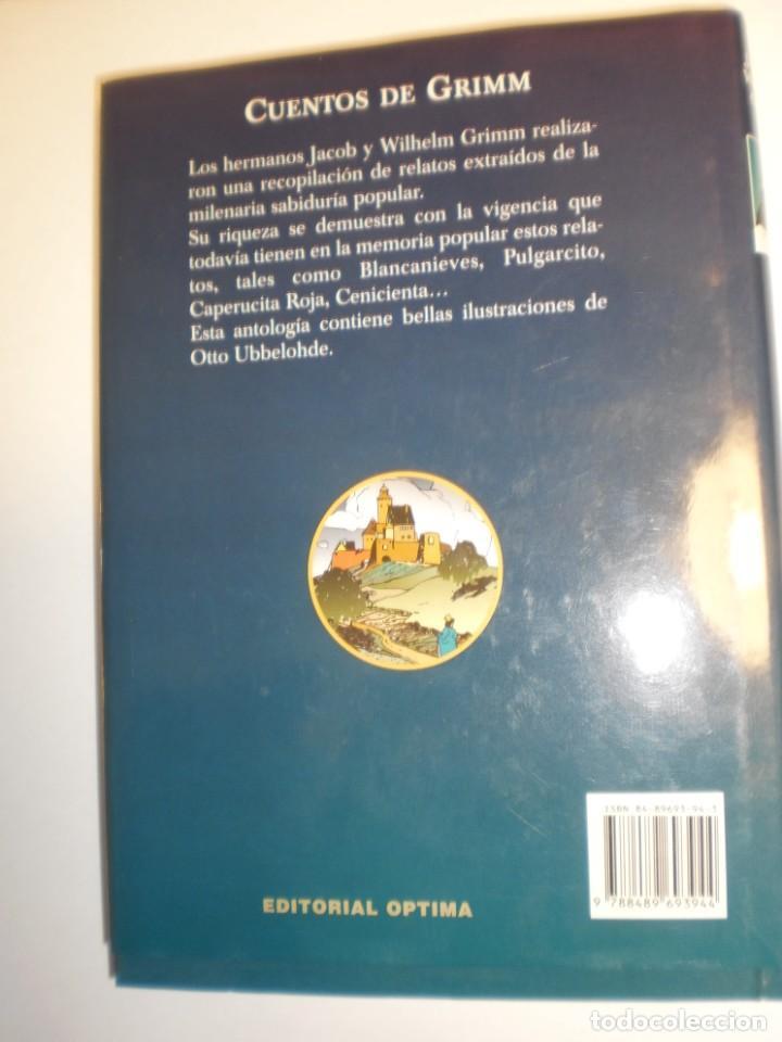 Libros de segunda mano: cuentos de grimm. jacob y welhelm. ediciones B 2000 tapa dura. ed ilustrada 269 pág (seminuevo) - Foto 2 - 184763561