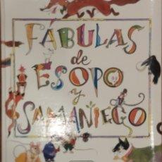 Libros de segunda mano: FÁBULAS DE ESOPO Y SAMANIEGO (SUSAETA 1999). Lote 184835801