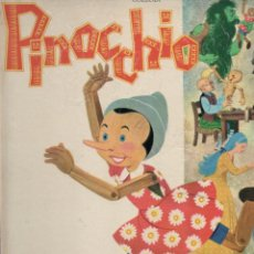 Libros de segunda mano: COLLODI . PINOCCHIO (MONDIALES DEL DUCA, 1963) PINOCHO - GRAN FORMATO. Lote 187015035