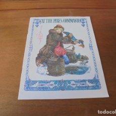 Libros de segunda mano: CUENTO (TEXTO EN INGLÉS): AT THE PIKE`S COMMAND. ILUSTRACIONES DE P.G. PONOMARENKO. Lote 187178916