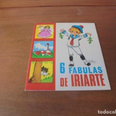 Libros de segunda mano: CUENTO DE 1969: 6 FÁBULAS DE IRIARTE. ILUSTRACIONES DE MARÍA PASCUAL. EDICIONES TORAY.. Lote 187184663