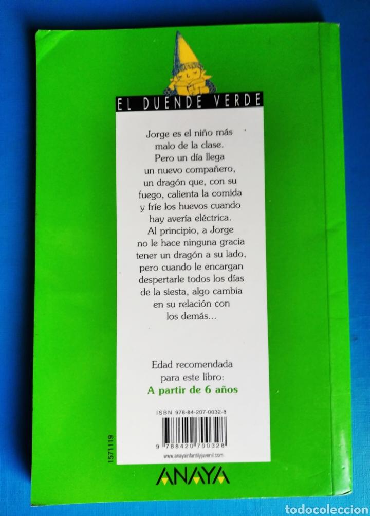 Libros de segunda mano: Libro no quiero un dragón en mi clase violeta monreal el duende verde Anaya año 2000 - Foto 2 - 187245798
