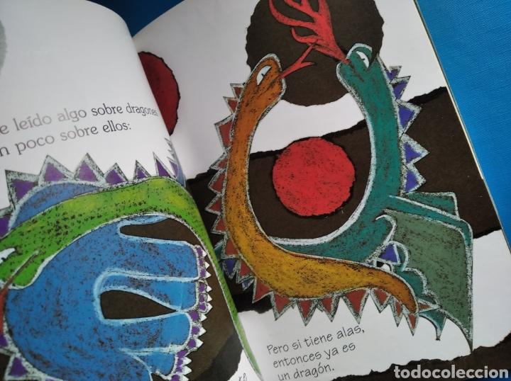 Libros de segunda mano: Libro no quiero un dragón en mi clase violeta monreal el duende verde Anaya año 2000 - Foto 3 - 187245798