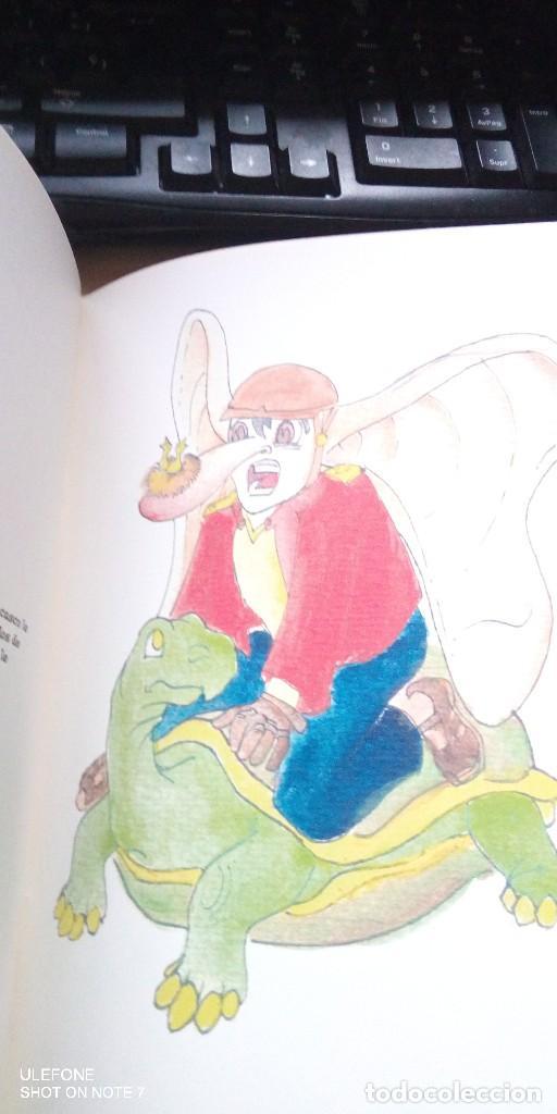 Libros de segunda mano: on, el dragon de rosa maria maldonado sanchez y ilustraciones de su hermano - Foto 2 - 187246590