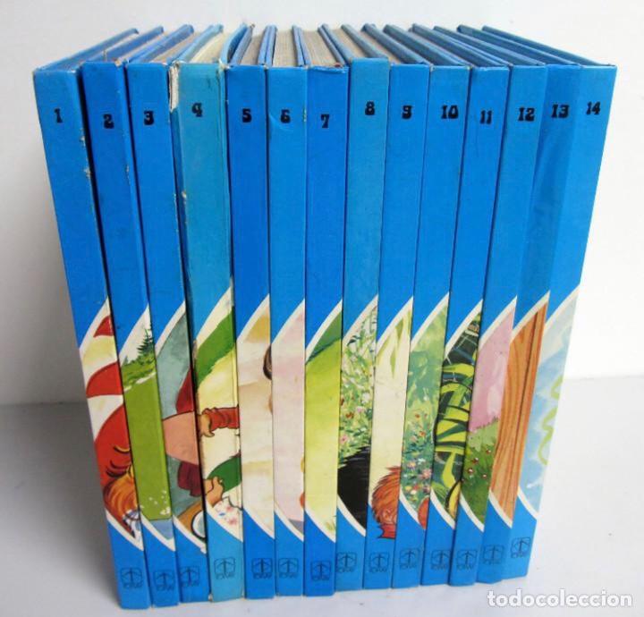 CUENTOS AZULES. EDICIONES TORAY 1981. NÚMEROS DEL 1 AL 14. TAPA DURA. ILUSTRADOS (Libros de Segunda Mano - Literatura Infantil y Juvenil - Cuentos)
