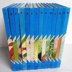 Libros de segunda mano: CUENTOS AZULES. EDICIONES TORAY 1981. NÚMEROS DEL 1 AL 14. TAPA DURA. ILUSTRADOS. Lote 139524142