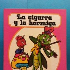 Libros de segunda mano: LA CIGARRA Y LA HORMIGA. CUENTOS FHER. EDITORIAL FHER. Lote 188643166