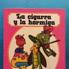 Libros de segunda mano: LA CIGARRA Y LA HORMIGA. CUENTOS FHER. EDITORIAL FHER. Lote 188643216