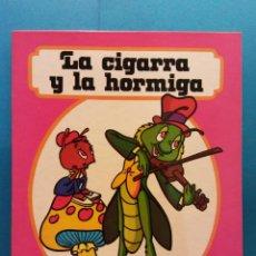 Libros de segunda mano: LA CIGARRA Y LA HORMIGA. CUENTOS FHER. EDITORIAL FHER. Lote 188643266