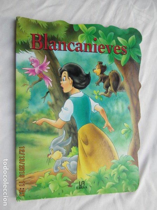 BLANCANIEVES - TROQUELADO - EDITORIAL LIBSA 2001. (Libros de Segunda Mano - Literatura Infantil y Juvenil - Cuentos)