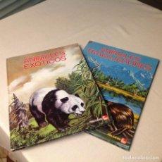 Libros de segunda mano: ANIMALES, TRABAJADORES Y EXÓTICOS . PUBLICACIONES FHER 1975 !! NUEVOS!!,. Lote 189588157