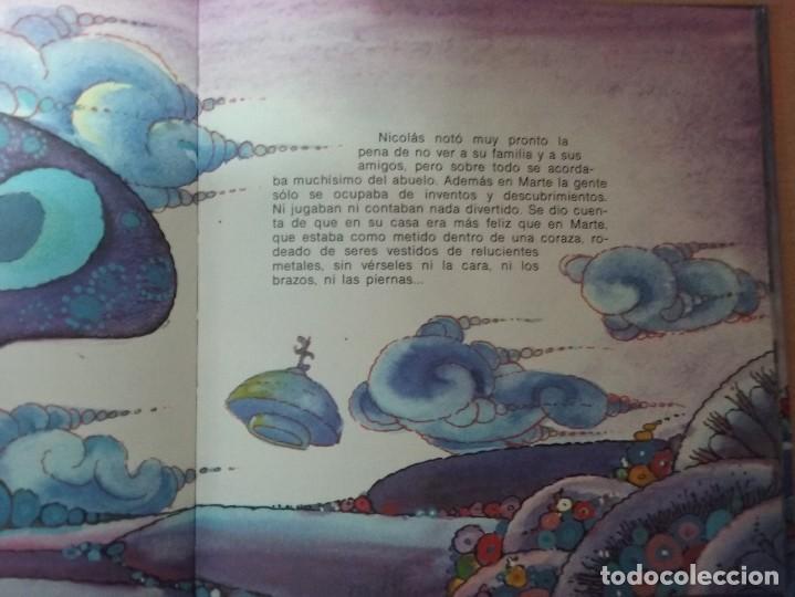Libros de segunda mano: NICOLÁS EN MARTE - CARMEN DE YBARRA (ILUSTRACIONES: TEO PUEBLA , EDITA : EVEREST) - Foto 6 - 189634921