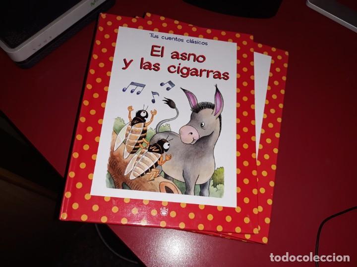 Libros de segunda mano: Lote 16 Libros Tus Cuentos Clasicos RBA 2004 . - Foto 4 - 189724378
