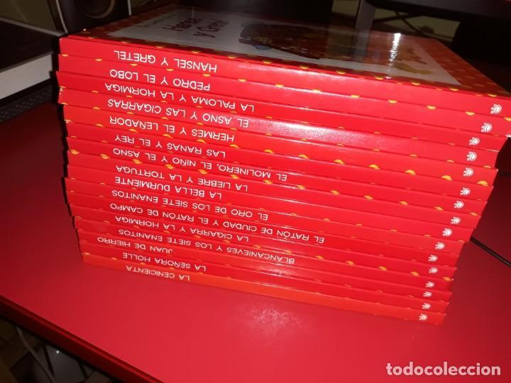 Libros de segunda mano: Lote 16 Libros Tus Cuentos Clasicos RBA 2004 . - Foto 5 - 189724378