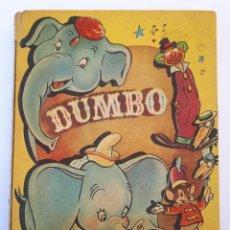 Libros de segunda mano: DUMBO. WALT DISNEY. EDITORIAL VILCAR. BARCELONA. AÑOS 50S.. Lote 189727693