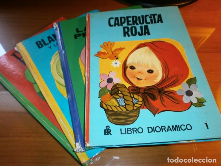 LOTE 4 LIBROS DIORÁMICOS - CLASIC DIORAMA - Nº 1,2,3,4 - EDITORIAL ROMA, 1980 - COMPLETA. (Libros de Segunda Mano - Literatura Infantil y Juvenil - Cuentos)