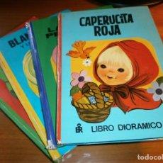 Libros de segunda mano: LOTE 4 LIBROS DIORÁMICOS - CLASIC DIORAMA - Nº 1,2,3,4 - EDITORIAL ROMA, 1980 - COMPLETA.. Lote 189922005