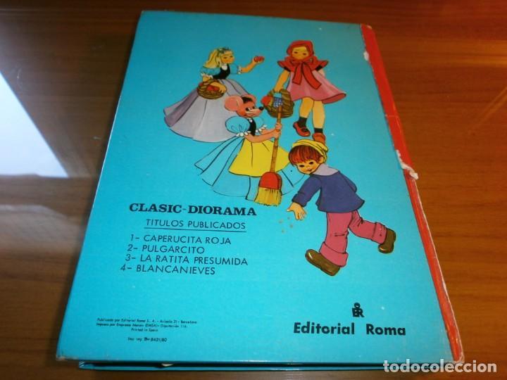 Libros de segunda mano: LOTE 4 LIBROS DIORÁMICOS - CLASIC DIORAMA - Nº 1,2,3,4 - EDITORIAL ROMA, 1980 - COMPLETA. - Foto 8 - 189922005