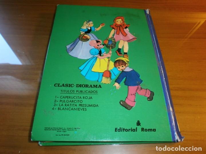 Libros de segunda mano: LOTE 4 LIBROS DIORÁMICOS - CLASIC DIORAMA - Nº 1,2,3,4 - EDITORIAL ROMA, 1980 - COMPLETA. - Foto 19 - 189922005