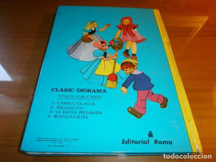 Libros de segunda mano: LOTE 4 LIBROS DIORÁMICOS - CLASIC DIORAMA - Nº 1,2,3,4 - EDITORIAL ROMA, 1980 - COMPLETA. - Foto 24 - 189922005