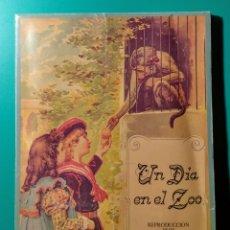 Libros de segunda mano: UN DÍA EN EL ZOO. LIBRO JUGUETE. EDITORIAL BRUGUERA. 1981.. Lote 189977068