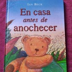 Libros de segunda mano: LIBRO CUENTO EN CASA ANTES DE ANOCHECER IAN BECK ED JUVENTUD. Lote 190004690