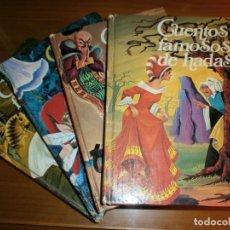 Libros de segunda mano: LOTE 4 LIBROS CUENTOS FAMOSOS - EDICIONES LAIDA - EDITORIAL FHER - AÑOS 1977.. Lote 190324390